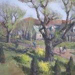 Spring Willows, Rockport. Artist: Tom Nicholas, N.A., A.W.S.