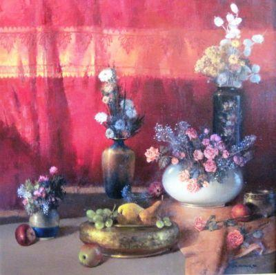 Porcelain-Flowers-and-Brass