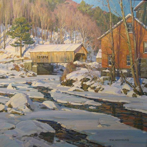 Late Afternoon, The Old Mill, T.M. Nicholas