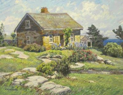 TM Nicholas Stone Cottage  Isle of Shoals