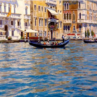 TM Nicholas Venitian Waters 24x30 darker